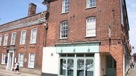 Staff at Gainsborough's House Museum will relocate to an information point next door during the 18-m