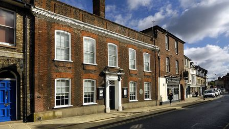 Gainsborough's House museum and gallery in Sudbury Picture: GAINSBOROUGH'S HOUSE