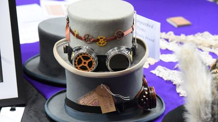 A range of steampunk accessories were also on offer Picture: Jamie Honeywood