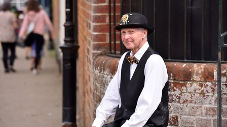 Bowler hats and bow ties were the order of the day Picture: Jamie Honeywood