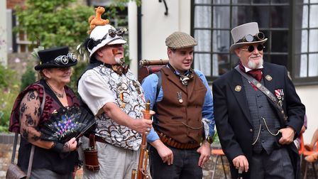 Steampunk spectacular weekend at The Long Shop Museum, Leiston. Picture: Jamie Honeywood