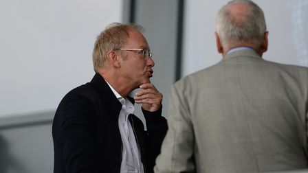 Marcus Evans was in the stands at Burton Albion. Picture PAGEPIX
