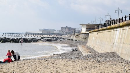 Lowestoft's South Beach is one of the town's many attractive spots. Picture: ANDREW PAPWORTH