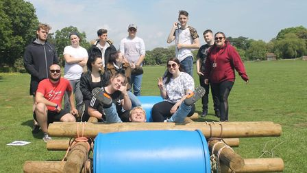 Inspire Suffolk has run its latest Prince's Trust Team Programme. Pictured is the Felixstowe team. P