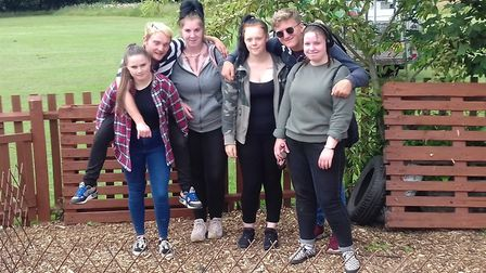Inspire Suffolk has run its latest Prince's Trust Team Programme. Pictured are members of the Colche