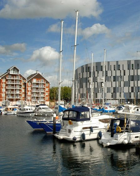 The Waterfront is the jewel in Ipswich's crown. Picture: ARCHANT LIBRARY