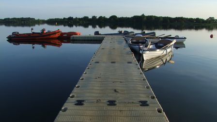 Alton Water should not be jumped in in the hot weather, warn Anglian Water Picture: STEPHEN SQUIRREL