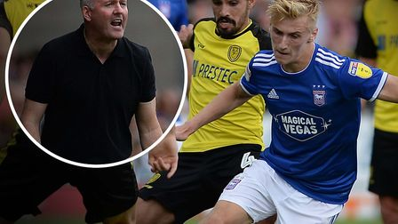 Paul Lambert has been impressed by the progress of midfielder Flynn Downes. Picture: PAGEPIX