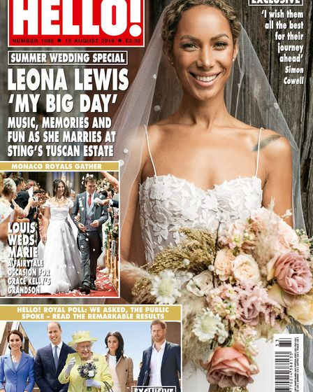 Framlingham's Laura Wright features in Hello! magazine Picture: HELLO! MAGAZINE / PA WIRE