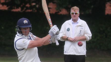 Martyn Cull, who top-scored with 64 in Sudbury's big win at leaders Frinton. Picture: GARY DONNISON