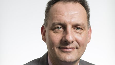Jonathan Warren, chief executive of the Norfolk and Suffolk Foundation Trust Picture: JUSTIN SETTERF