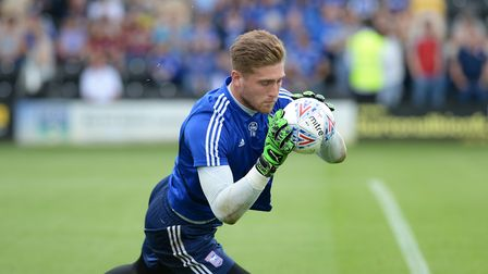 Carl was impressed with new Ipswich goalkeeper Tomas Holy at Burton
