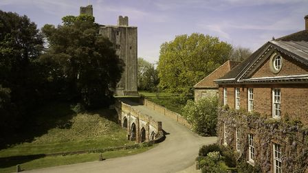 The castle can hold 130 guests for the ceremony. Photo: Hedingham Castle.