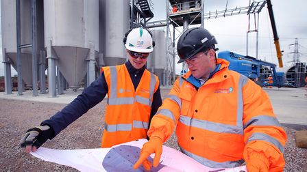 Engineers at Anglian Water Picture: Tim George