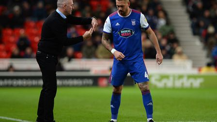 Ipswich Town captain Luke Chambers is enjoying the way manager Paul Lambert sets the side up to win.