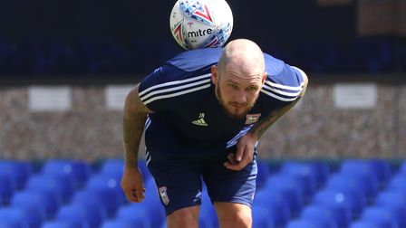 James Norwood is ready for his first real crack at League One Picture: ROSS HALLS