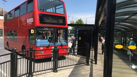 Rural bus services are under pressure in Suffolk . Picture: ARCHANT