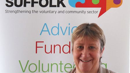Christine Abraham is chief executive of Community Action Suffolk. Picture: COMMUNITY ACTION SUFFOLK