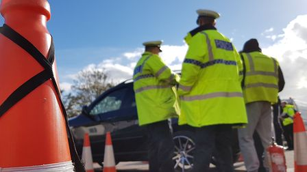 Trading Standards took part in a recent multiagency operation in Felixstowe Picture: RACHEL EDGE