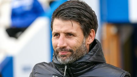 Lincoln manager Danny Cowley. Picture: STEVE WALLER