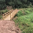 The new bridge in Hinderclay. Picture: SUFFOLK HIGHWAYS