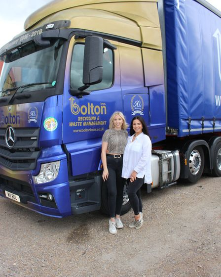 Bolton Brothers, one of Suffolk's leading recycling and waste management businesses teams up with Su