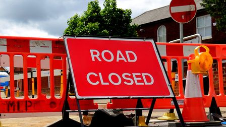 The A12 will be closed overnight for four weeks while work is carried out. Picture: SIMON PARKER