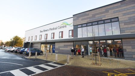 Two Rivers Medical Centre in Ipswich, which was formed by the merger of the Lattice Barn Surgery and