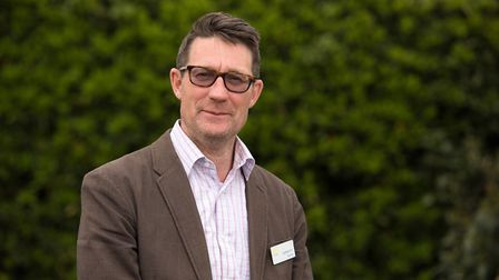 Dr Paul Driscoll, chairman of the Suffolk GP Federation Picture: ASHLEY PICKERING