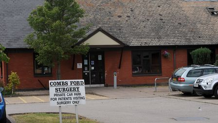 Combs Ford Surgery near Stowmarket Picture: PHIL MORLEY
