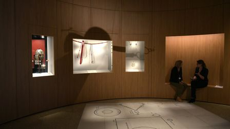 Inside the revamped Sutton Hoo exhibition hall Picture: SARAH LUCY BROWN