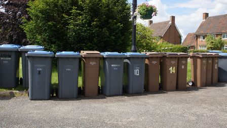 Householders have complained after bins were not emptied Picture: PETER WILES