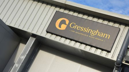 Gressingham Foods' site in Redgrave is now home to Gressingham Game Picture: GRESSINGHAM FOODS