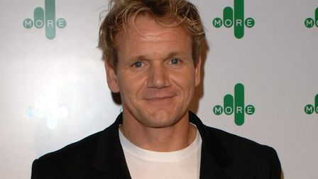 Celebrity chef Gordon Ramsay has been in Bury St Edmunds visiting a local business. Picture: PA Pho