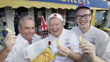 Henley's of Wivenhoe fish and chip shop is in the running to become the best fish and chip shop in t