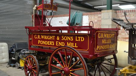 A 1920s brewer's van owned by Trumans Picture: JAMES MANN