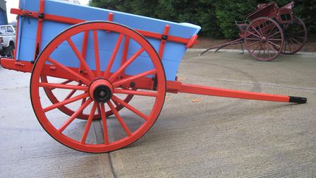 An unusual French tip cart Picture: HERITAGE HORSES