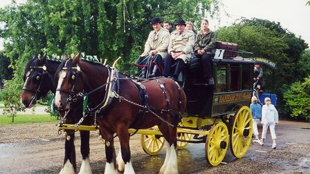 Omnibus at the lord mayor's parade in Norwich in 2001 Picture: HERITAGE HORSES