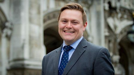 Will Quince, MP for Colchester and newly-appointed Minister for Welfare Delivery Picture: ARCHANT