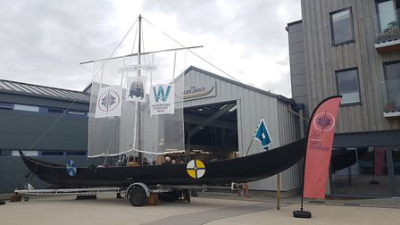 The #makeshiphappen launch event at the Long Shed in Woodbridge. PICTURE: RACHEL EDGE