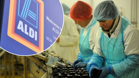 Suffolk sushi maker Ichiban has teamed up with supermarket chain Aldi as part of a new partnership.