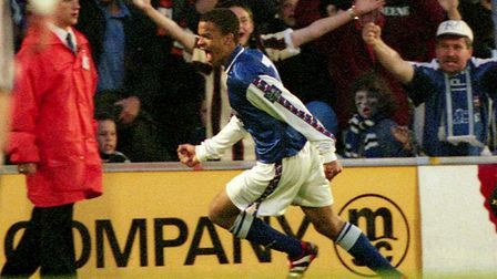 Kieron Dyer is an Ipswich Town icon. Picture: ARCHANT