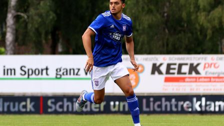 Premier League clubs have made enquiries about Ipswich Town midfielder Andre Dozzell. Photo: Ross Ha