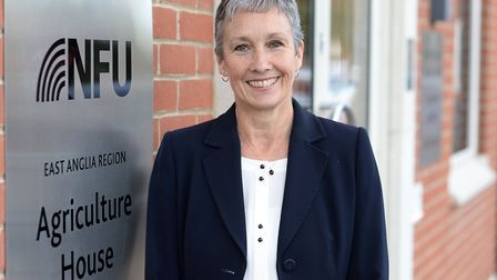 Farmers are committed to meeting climate change targets says NFU East Anglia regional director Rache