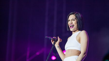 Jessie J performs at East Coast Live at Ipswich's Chantry Park Picture: JEN O'NEILL