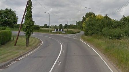 Suffolk police and the ambulance service are on the scene of a serious crash near Borley Green, outs