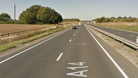 The accident on the A14 at Woolpit on August 10 was fatal Picture: GOOGLE MAPS