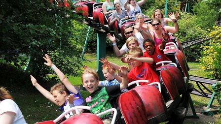 Pleasurewood Hills has been forced to close some of its rides due to high winds Picture: ARCHANT