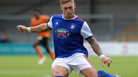 Martyn Waghorn left Ipswich Town for Derby in 2018 Picture: PAGEPIX
