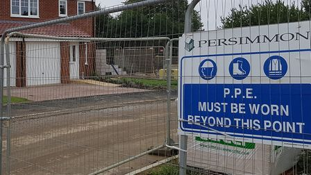 Persimmon says it has worked with the council throughout the development Picture: RACHEL EDGE